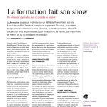 La formation fait son show - article HR Magazine avril 2018 - copie